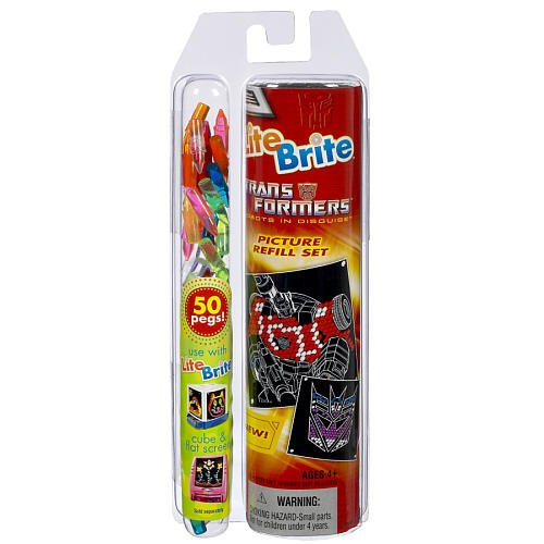 lite-brite-transformers-picture-refill-set-with-bonus-50-pegs