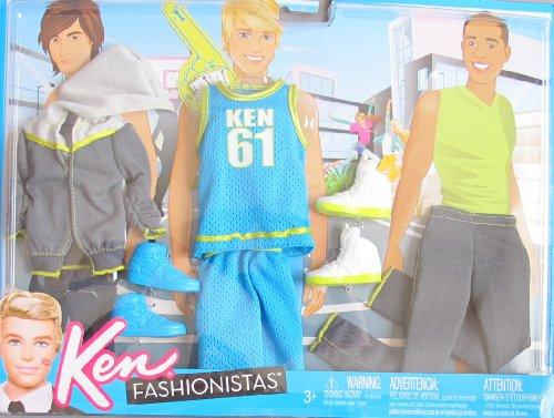 Barbie KEN Fashionistas SPORTS FASHIONS Outfits & SHOES (2011) by Ken Fashionistas