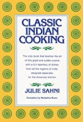 This extraordinary cookbook, Classic Indian Cooking, amounts to a complete course in Indian cuisine. Elucidated by over 100 line drawings, it systematically introduces the properties of all the basic spices and special ingredients of I...