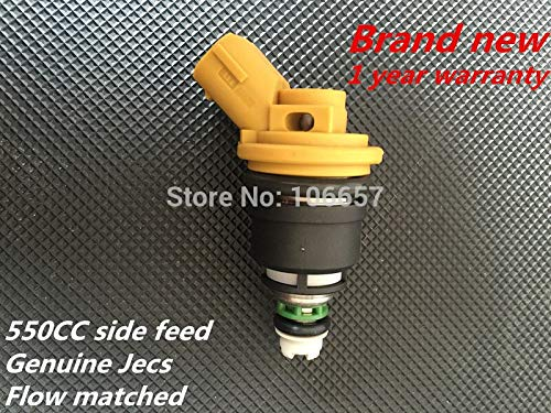 Side Feed High Impedance Injector - ABRAMOV DMITRY - High performance 550cc Fuel Injector fuel nozzle JECS Side Feed for Subaru WRX STI Impreza Legacy Forester Outback 2.0L 2.5L