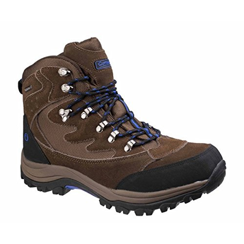 Cotswold Mens Oxerton Waterproof Breathable Trail Walking Hiking Boots Brown