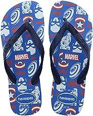 Chinelo Top Marvel Logomania, Havaianas, Criança Unissex