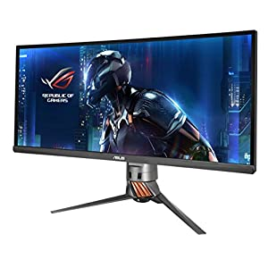 """ASUS ROG SWIFT PG348Q 34"""" 21:9 3440x1440 IPS 100Hz G-SYNC Eye Care Gaming Monitor with DP and HDMI ports"""