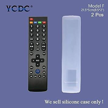 Funda de silicona para mando a distancia Samsung BN59-01026A; Hisense CN-31658; Konka K906 / KK-