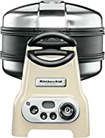KitchenAid 5KWB110EAC Waffeleisen Artisan 1400 Watt, creme