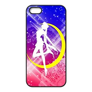 Case for iPhone 5s,Cover for iPhone 5s,Case for iPhone 5,Hard Case for iPhone 5s,Sailor Moon Design TPU Hard Case for Apple iPhone 5 5S