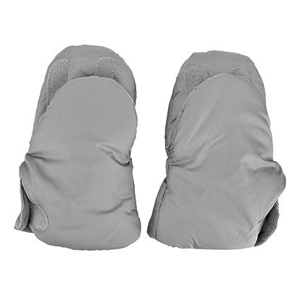 Guantes Carrito Bebé, Everpert Impermeable de Nylon Cochecito de Bebé de Invierno Cálido Fleece Guantes
