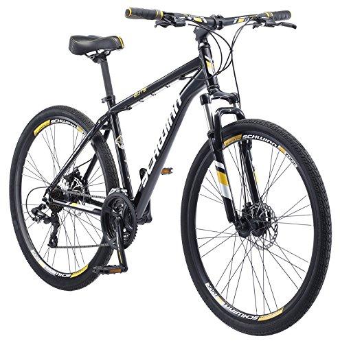 Schwinn Men's GTX Elite Dual Sport Frame 700C Wheel Bicycle, Black, 18