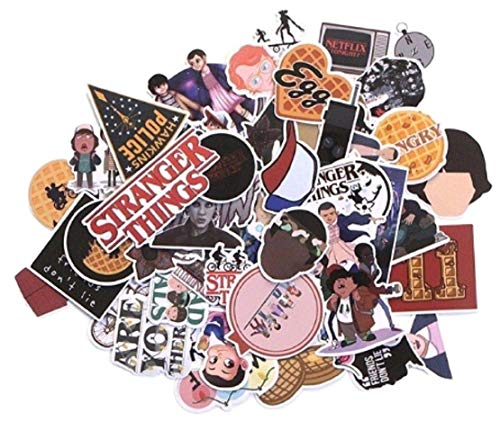 - Stranger Things Themed Set of 66 Assorted Stickers Decal Set