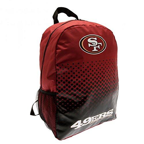 San Francisco 49ers Rucksack - NFL Football Fanartikel Fanshop