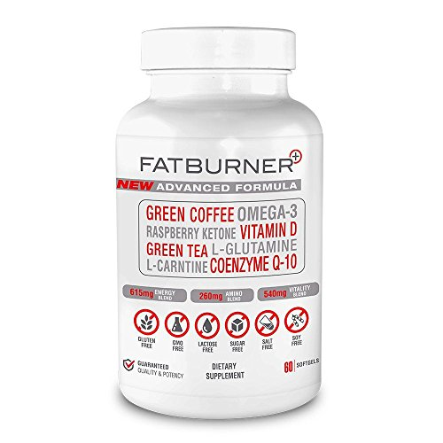 Fat Burner Plus - Advanced Weight-loss System | 1 Month Supply (60 Capsules)