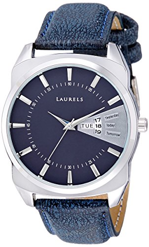 Laurels Lo Inc 203 Analog Blue Dial Men S Watch Lo Inc 203