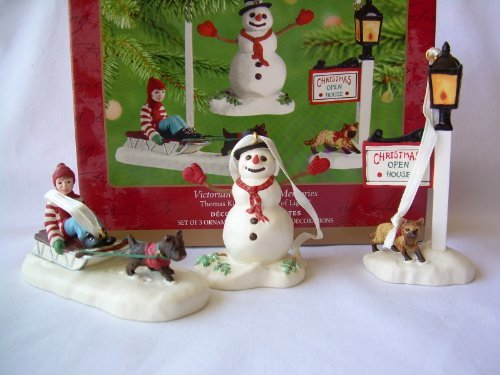 (Hallmark 2001 Ornament Victorian Christmas Memories Thomas Kinkade, Painter of Light)