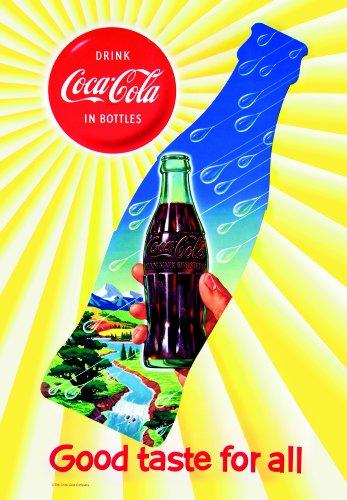 Russ Berrie 644658 Coca Cola Good Taste Garden Flag
