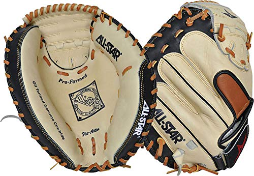 All-Star CM1200BTFR Youth Pro Comp Baseball Catchers Mitt, 31.5-Inches - Left Hand ()