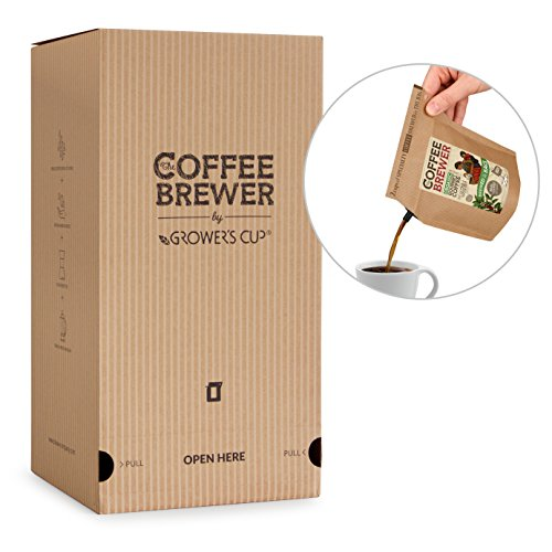 Coffeebrewer Desk Café - Coffee Assortment Box with 25 Gourmet Coffee Bags - The Perfect Coffee at Work
