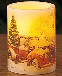 Holiday LED Candles(Christmas Truck)