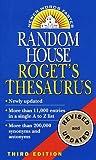 Random House Roget's Thesaurus, RH Disney Staff, 0345400941
