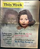 img - for This Week Magazine: The National Sunday Magazine (February 19, 1961; Milwaukee Journal ed.): Exclusive Report from Holland! Solving Mysteries w/Mental Telepathy, Milton Berle ... (Suzy Parker cover) book / textbook / text book