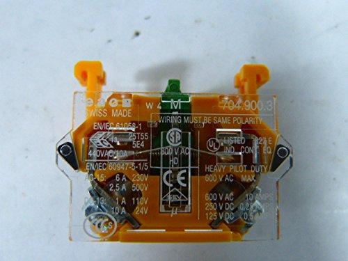 EAO 704-900.3 CONTACT BLOCK 10A SCREW 500V