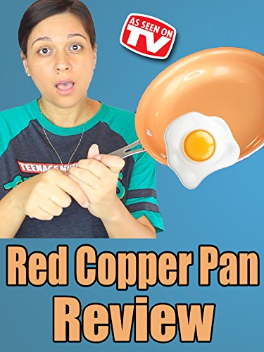 review red copper pan review as seen on tv vivian tenorio. Black Bedroom Furniture Sets. Home Design Ideas