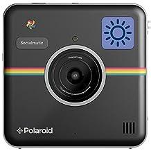 Polaroid Socialmatic 14MP Wi-Fi Digital Instant Print & Share Camera - Share on Socialmatic PhotoNetwork, Facebook, Instagram, Twitter & More - Black