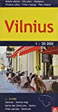 Vilnius City Map (English, German and Russian Edition)