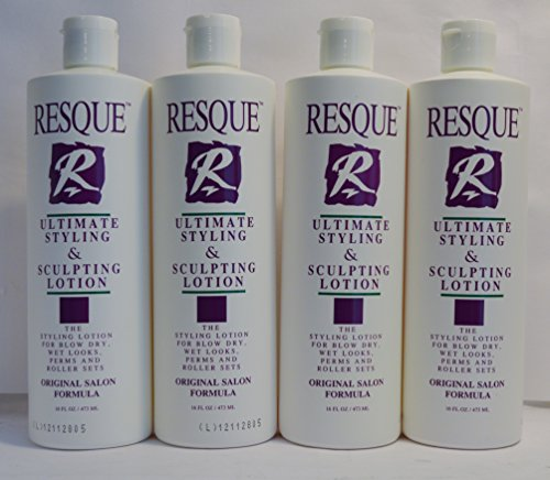 Resque Ultimate Hair Styling & Sculpting Lotion 16oz (4 Pack)