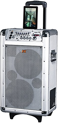 Price comparison product image QFX PBX-3081BT Portable Battery Powered Bluetooth PA Speaker
