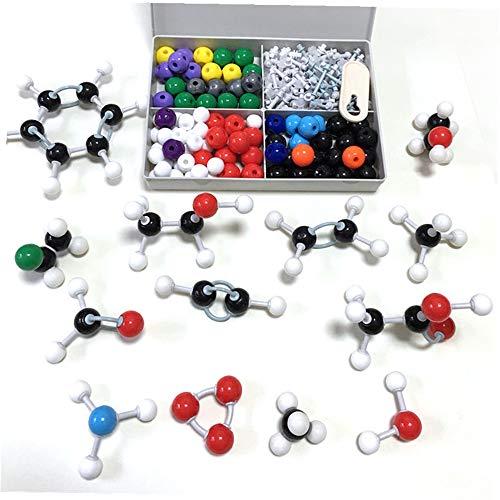 240PCS Organic Chemistry Molecular Model Kit, Chemistry Molecules Structures Student or Teacher Set with Atoms, Bonds