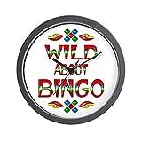 CafePress - Wild About BINGO Wall Clock - Unique Decorative 10'' Wall Clock