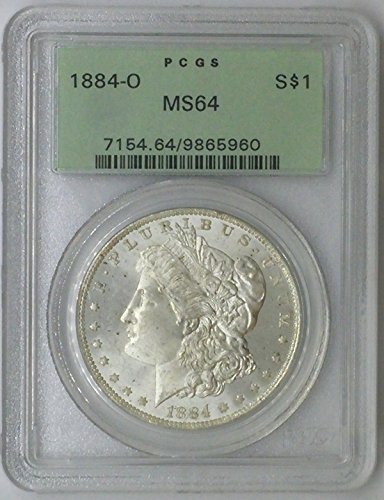 1884 O Morgan $1 MS64 PCGS Silver Dollar Old US Coin 90% Silver