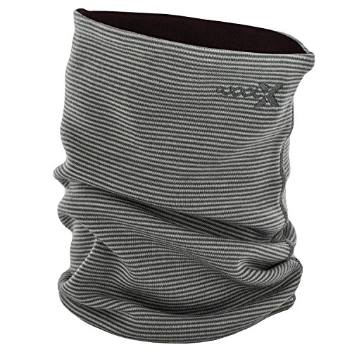 Resistant Neck Gaiter (Woolx X501 Neck Gaiters - Carbon Raisin Stripe - OFA)