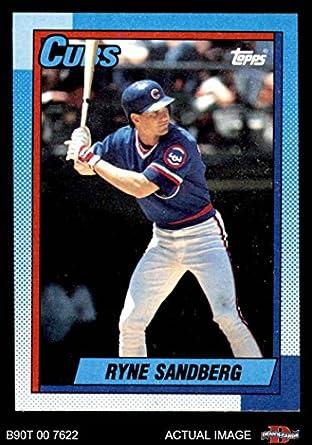 Amazoncom 1990 Topps 210 Ryne Sandberg Chicago Cubs