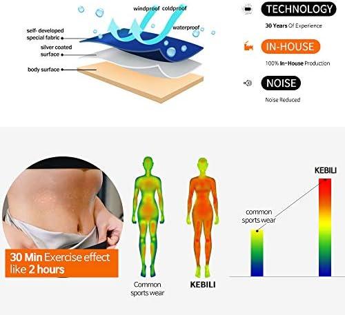 KEBILI Sauna Suit Women Weight Loss Gym Fitness Exercise Workout Sweat Training Hot Fat Men 4