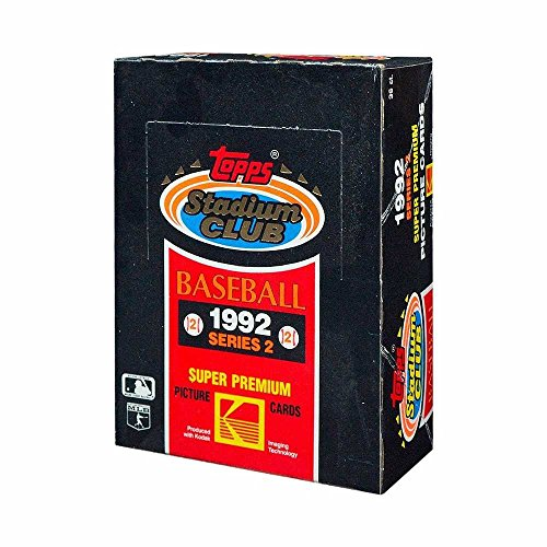 1992 Topps Stadium (1992 Topps Stadium Club Baseball Series 2 Hobby Box)