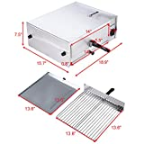 Happygrill Electric Pizza Oven Stainless Steel
