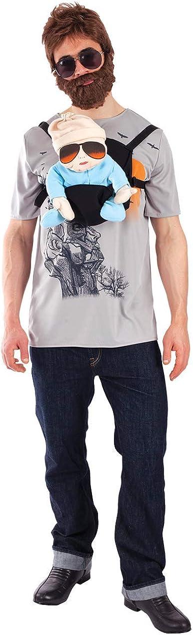 ORION COSTUMES Disfraz de Héroe de Película de Noche de Despedida de Solteros para Hombres