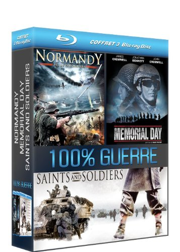 Coffret 100% Guerre : Normandy + Memorial Day + Saints and Soldiers