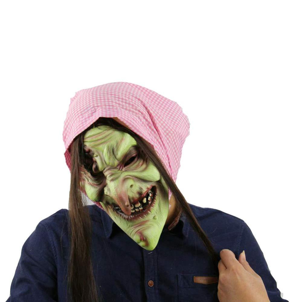 Masque Scène Sorcière Vieux Qjkai Masques Accessoires De D9WYEH2I