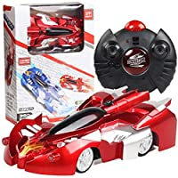Activane Remote Control Car Wall Climbing Toy RC Car for Kids 360° Rotating Radical Racers High Speed Race Wall-Climbing Car Racers for Boys Girls Gift