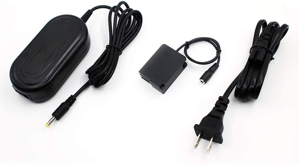 Bex-ing DMW-AC8 AC Power Adapter with DCC8 DC Coupler Charge Kit for Panasonic Lumix GX8 FZ1000 FZ300 FZ200 G7 G6 G5 GH2 GH2S G80 G85 Cameras