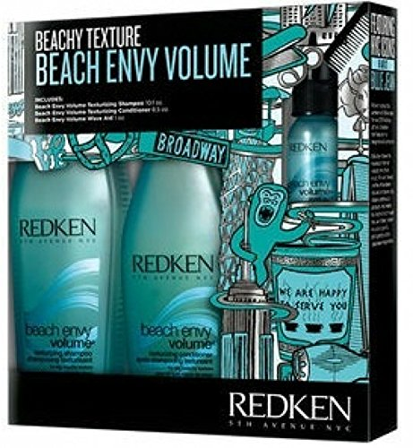 Redken Beach Envy Volume Texturizing Shampoo  Texturizing Co