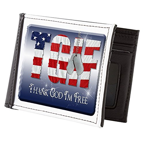 Men's Thank Truly I'm Billfold God Truly Free Wallet Teague Teague Rxtwq1YPP
