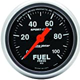 Auto Meter 3363 Sport-Comp Electric Fuel Pressure Gauge