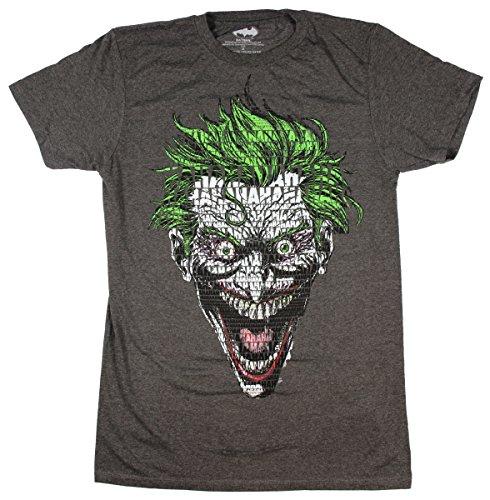 DC Comics Joker Text Fill Batman Graphic T-Shirt