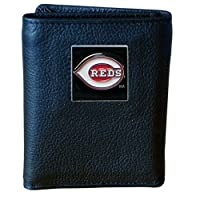MLB Cincinnati Reds Genuine Leather Tri-fold Wallet