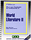 World Literature, Jack Rudman, 0837374618