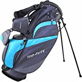 Top Flite Women's Lightweight Stand Bag (Grey/Turquoise)