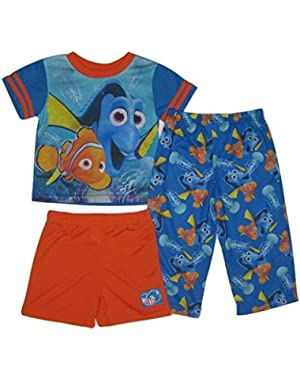 Disney Pixar Finding Dory Toddler Boy 3-Piece Pajama Set, 2T